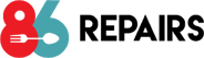 86 Repairs logo
