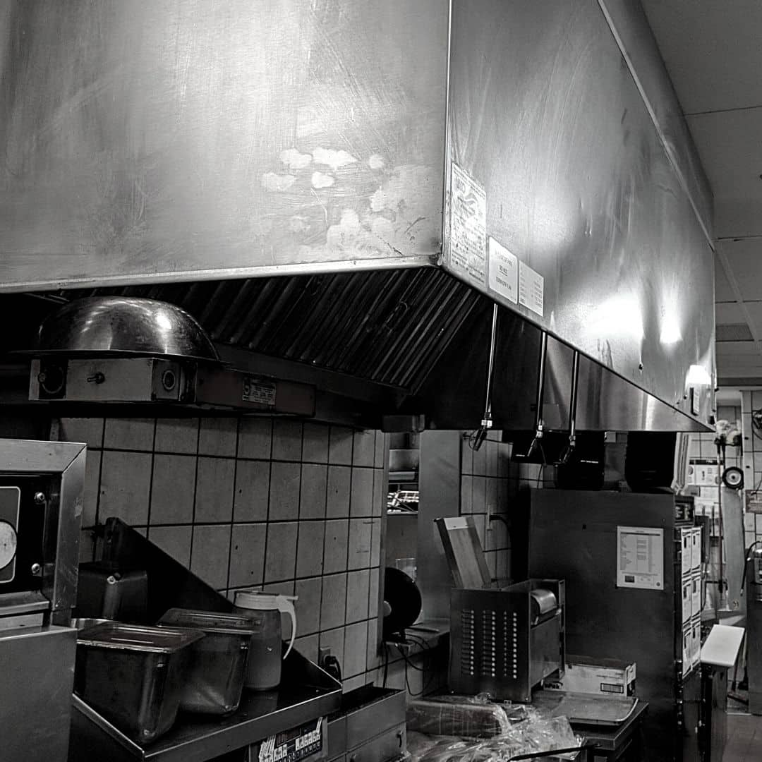 Commercial kitchen hood cleanings